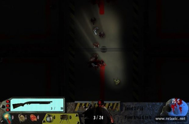 Zombies in the Shadow: флеш