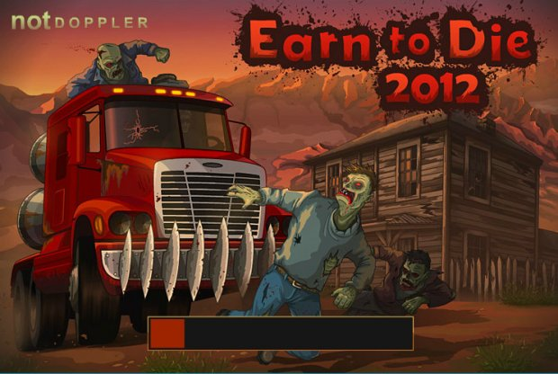 Earn to Die 2012 - Дави Зомби