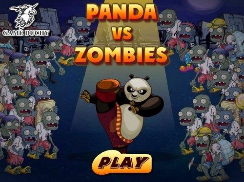Играть онлайн Панда против