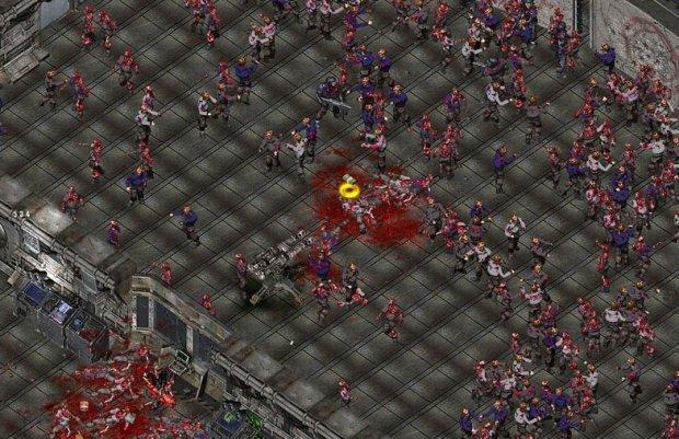 Скриншот из игры Zombie